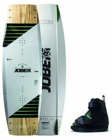 Prolix Wakeboard 134, 138, 143 & Host Bindings Black Set izmērs 3/6, 7/10, 10/12