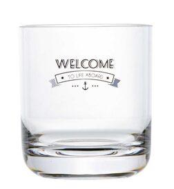 Ūdens glāze WELCOME TO LIFE, 6 gab