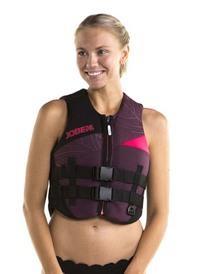 Sieviešu glābšanas veste Bordeaux Red XS, S, S+, M, M+, L, XL, 2XL