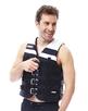 Jobe glābšanas veste 4 Buckle Vest Melna XS, S, M, L, XL, 2XL, 3XL, 4XL