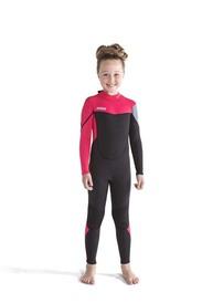 Bērnu hidrotērps Boston 3|2MM Hot Pink izmēri 2XS, XS,  S, M, L, XL, 2XL, 3XL