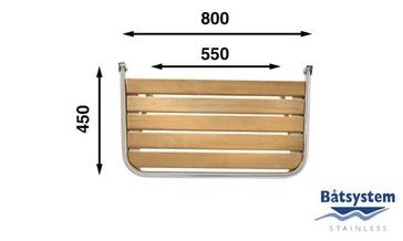 Tranča paltforma 80x45cm