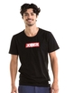 T-krekls ar logo vīriešu- Melns S, M, L, XL, 2XL