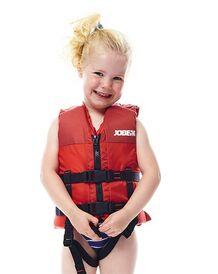 Bērnu glābšanas veste sarkana uni