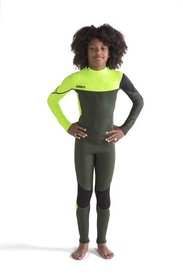 Bērnu hidrotērps Boston 3|2MM Army Green  izmēri 2XS, XS,  S, M, L, XL, 2XL, 3XL