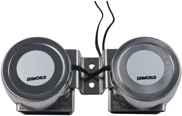 Skaņas signāls 30720 TWIN COMPACT HORN STAINLESS