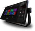"AXIOM 12 Pro-S, HybridTouch 12"" Multi-function Display with integrated High CHIRP Conical Sonar for CPT-S"