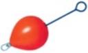 Enkurboja sarkana + D-4 TEN KOMPLETT