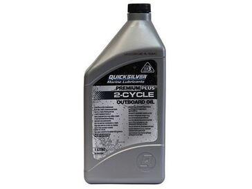 Eļļa Quicksilver Premium Plus two stroke oil 1 Litre, Part Number 92-858026QB1