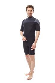 Vīriešu hidrotērps īsais Perth Shorty 3 2MM Graphite Grey izmēri S, M, L, XL, 2XL, 3XL, 4XL