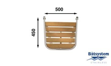 Tranča paltforma 450x500mm