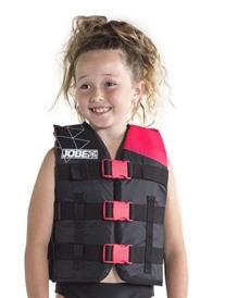 Glābšanas veste Nylon Vest jauniešu karstā rozā