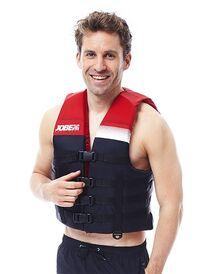 Glābšanas veste Dual Vest Sarkana S/M, L/XL, 2XL/3XL, 4XL/5XL
