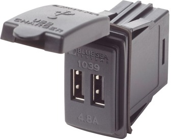 1039-BSS DUAL USB CHARGER 12/24V