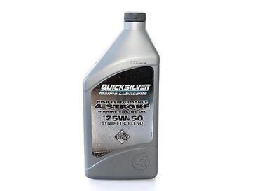 Eļļa 25W50 SYNTHETIC BLEND OUTBOARD OIL 1L