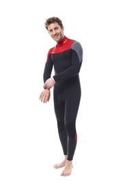 Vīriešu hidrotērps Perth 3|2MM Red izmēri  S, M, L, XL, 2XL, 3XL