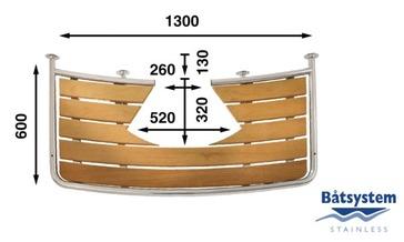 Tranča platforma 1300x600