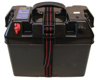 C11537M BATTERY BOX W. POWER OUTLET