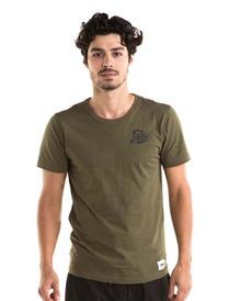 T-krekls vīriešu- Armijas zaļais S, M, L, XL, 2XL