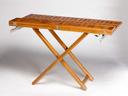 Tīka koka galds, 120×40/120X80CM