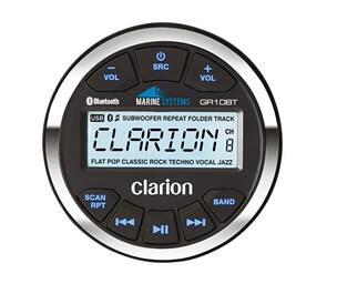 Radio Clarion GR10BT MP3, AUX, USB