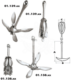 Enkurs Grapnel anchor 10 kg