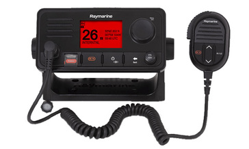 Ray73 VHF Radio (optional 2nd handset) with Integrated GPS and AIS receiver