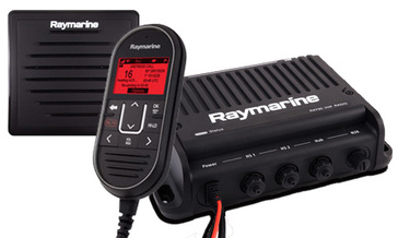 Ray 90 VHF Black Box (inc wired handset, passive speaker and cable)