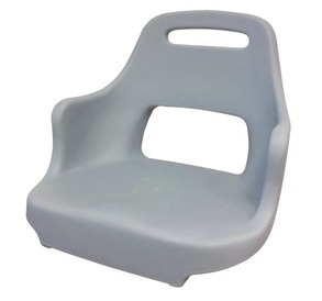 "Krēsls CHAIR ""CAPTAIN PLUS"" GREY COLOR"