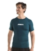 Rash Guard Shortsleeve Men Dark Teal  S, M, L, XL, 2XL